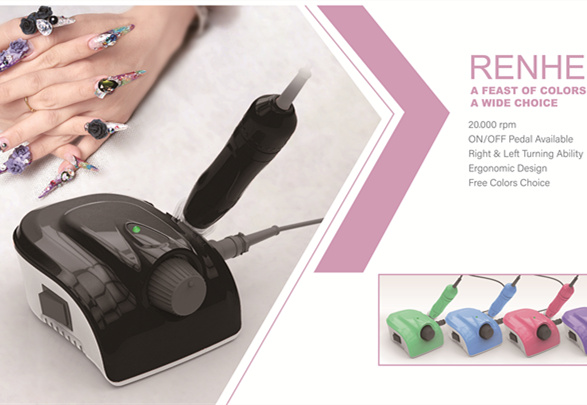Best nail manicure way-Nail Drill RHJC